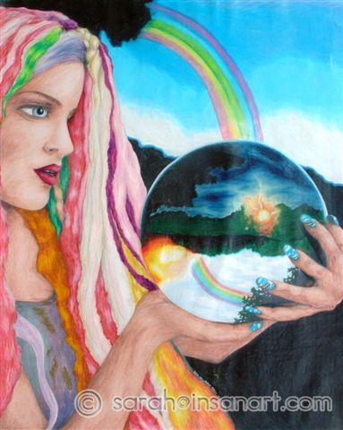 Rainbow & the Crystal Ball