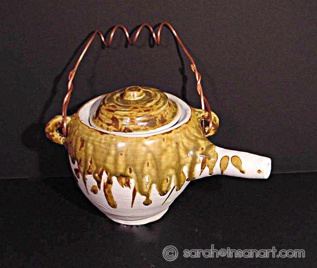 Teapot With a Twist